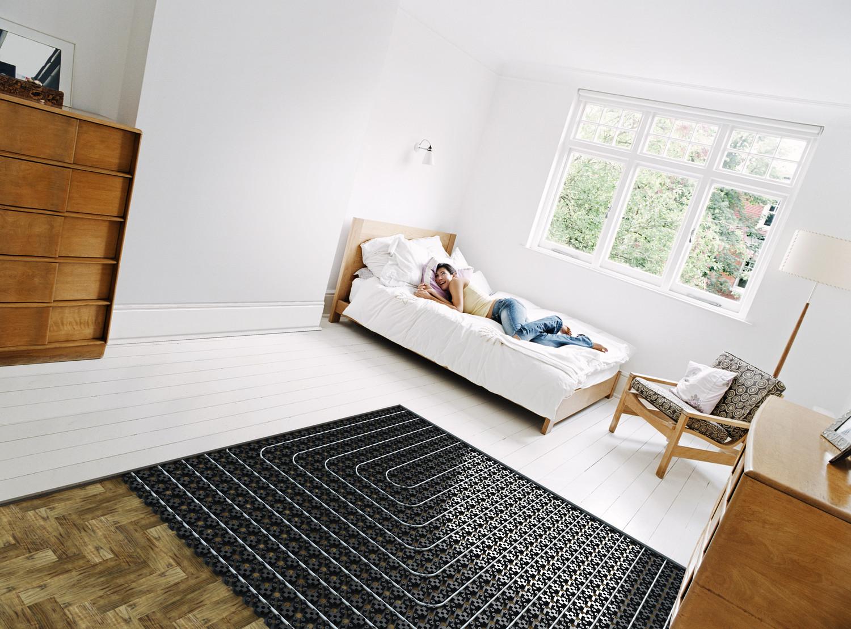Uponor vėsinimas ir šildymas grindimis